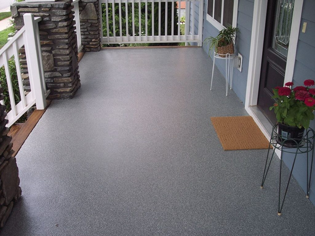 epoxy floor for patio utah