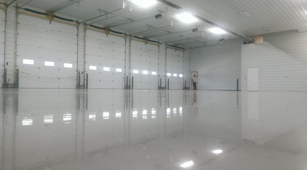 warehouse epoxy floor utah
